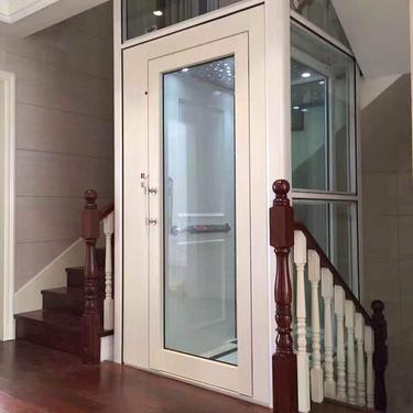 家用电梯小型电梯二层三层室内阁楼电梯四层室外观光别墅楼道电梯
