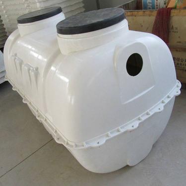 厂家供应量身定制小型玻璃钢模压一体化化粪池