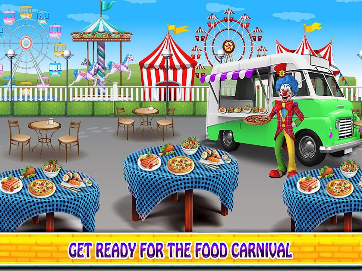 Food Vehicle Chef: Cooking & Management Game下载