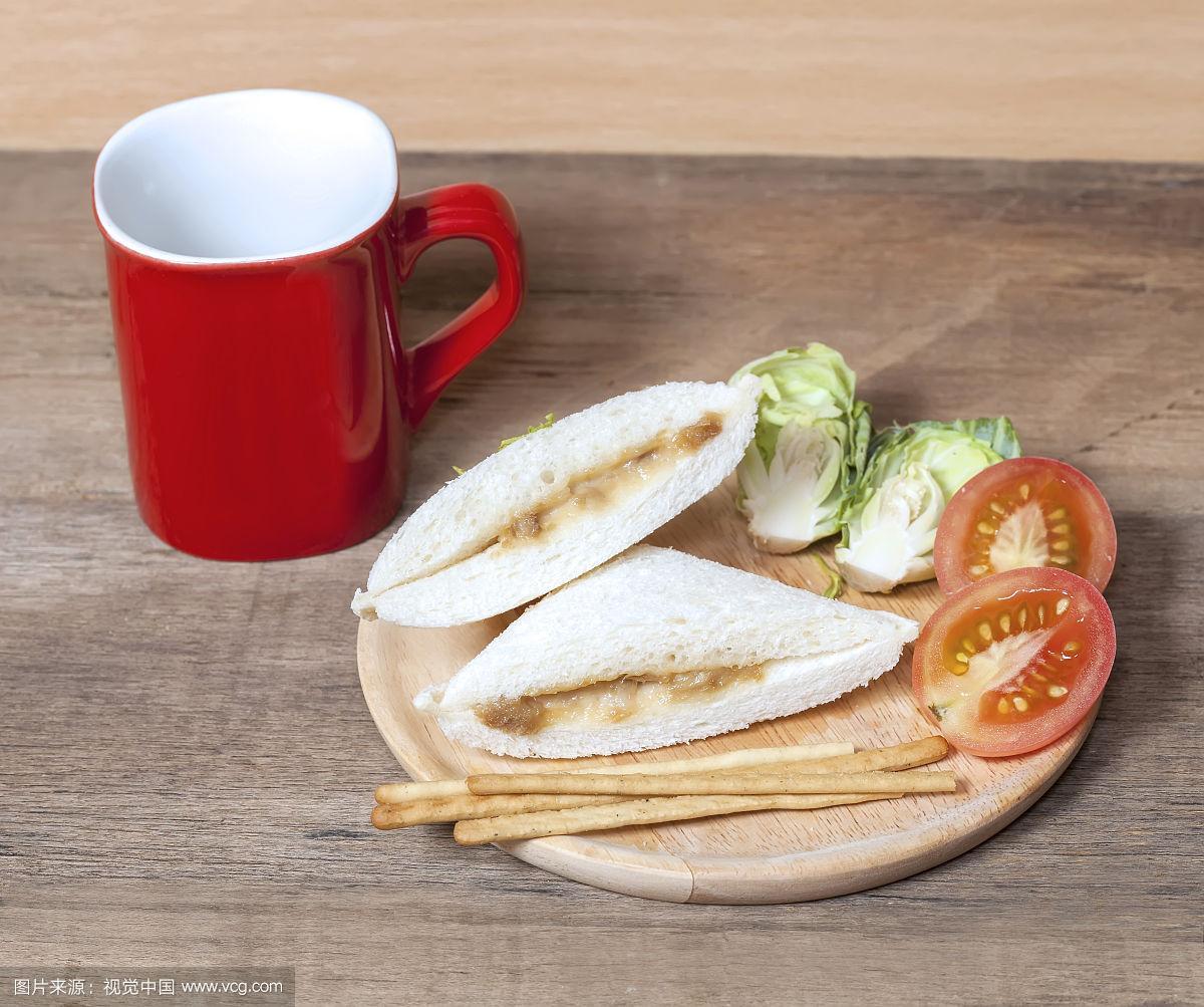 三明治,鲔鱼,水平画幅,奶酪,西红柿,肉,面包,红色,牛肉汉堡,即食食品