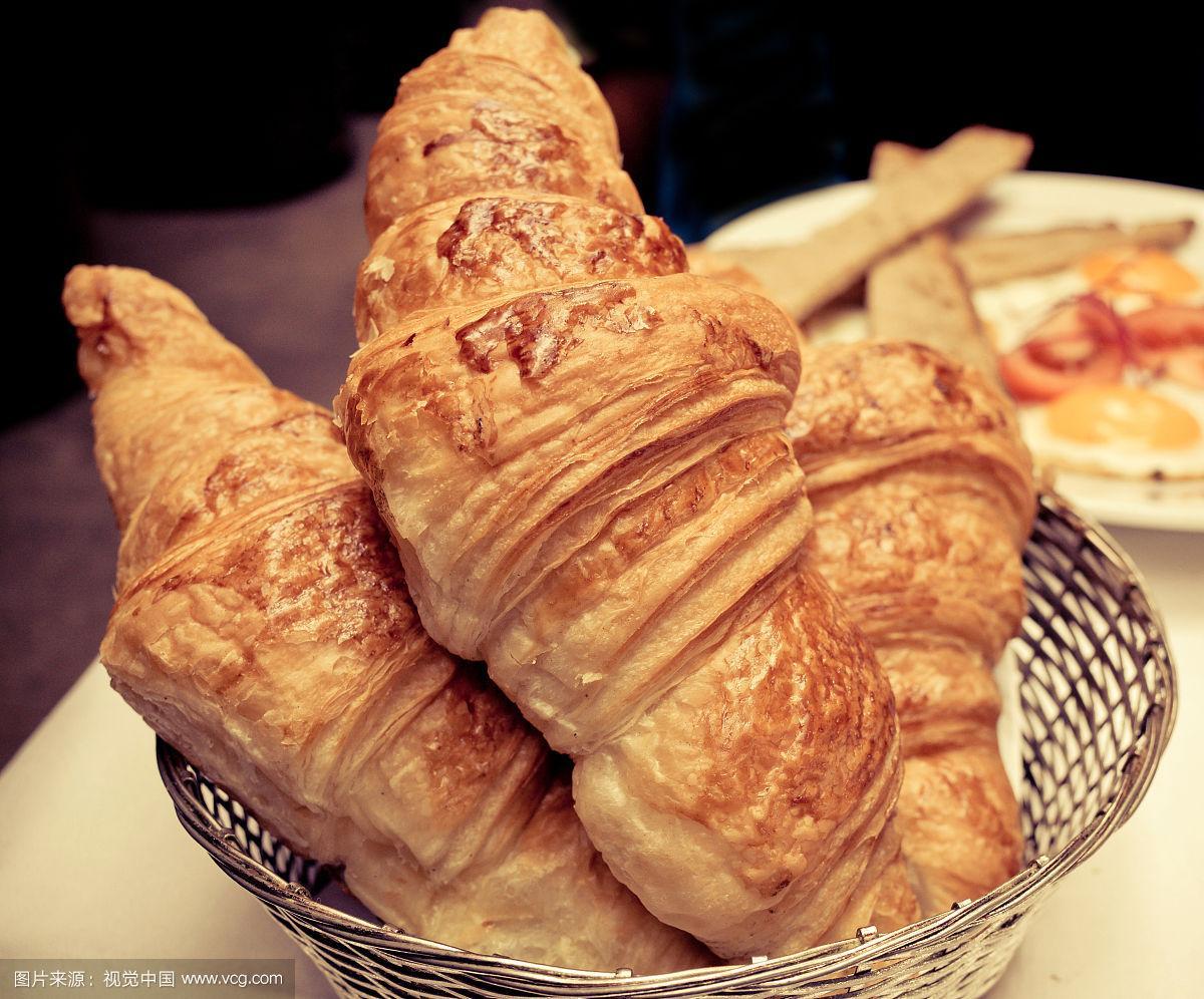 食品,饮食,早餐,水平画幅,鸡蛋,传统,黄油,牛角面包,法式食品,面包店