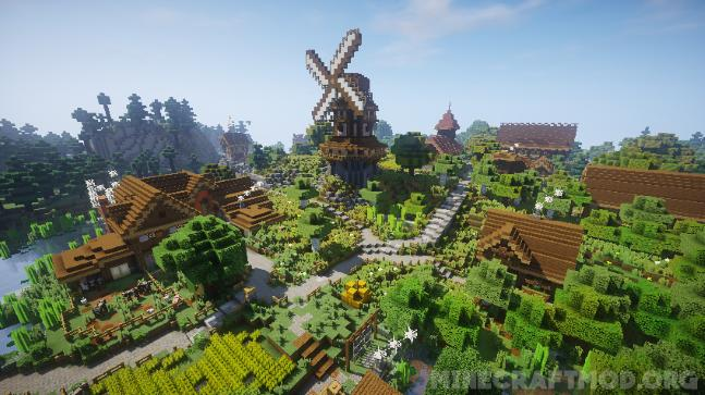 Chocapic13's V7 Shaders Mod 1.12.2 (Realistic Graphics) | Minecraft Mods