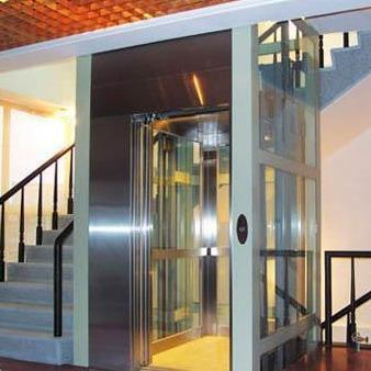 定制双宇唯诺别墅曳引电梯 家用观光电梯 小型电梯室内升降机 sy1009 别墅电梯二三四五六层