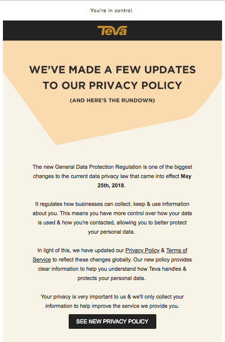 5 GDPR Emails We Love