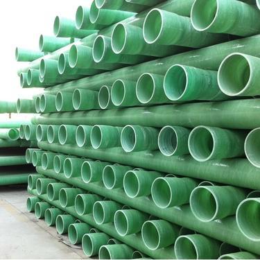 山东玻璃钢夹砂管DN200  玻璃钢电力管内壁光滑 强度高玻璃钢管道