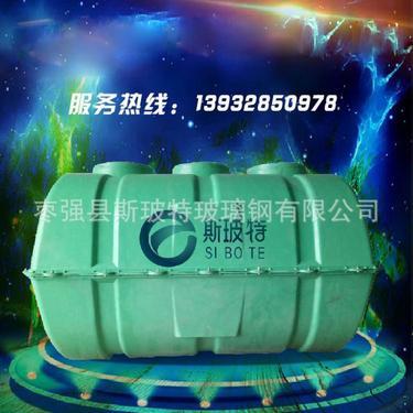 建设美丽乡村专用污水处理设备smc模压玻璃钢小型化粪池0.8-2立方