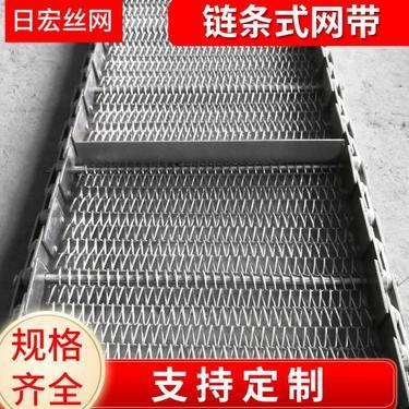 304不銹鋼鏈條式網帶 烘干機輸送帶 面條稻谷烘干網帶密螺距