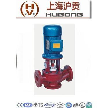 上海沪贡SL型立式玻璃钢管道泵 玻璃钢管道泵