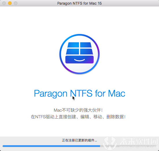 Paragon NTFS 15 for Mac for Mac(硬盘格式区分软件) V15.0.828中文破解版